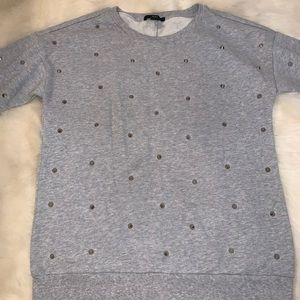 Studded/Spiked Sweatshirt